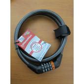 Antivol cable à code, Point, 1m50