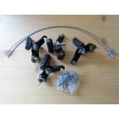 Kit complet : freins Cantilever : avant et arrière + câbles et visserie