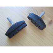Paire de patins de freins à tige 50mm