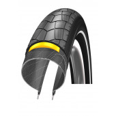 18x2.00 Schwalbe BIG APPLE HS 338 tringle rigide - ETRTO 50-355