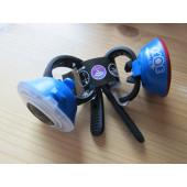 Bopp set bleu SPANNINGA, à piles fixation collier silicone