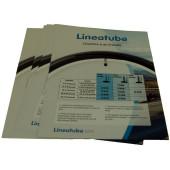 Flyer LINEATUBE - lot de 10