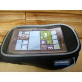 Sacoche de guidon pour smart phone fixation velcro, small