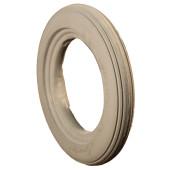 Bandage Plein Greentyre LEON Gris - 8x1 1/4 - 200x32 - largeur intérieure de jante 19 à 21 mm