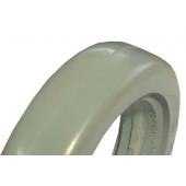 Bandage Plein Greentyre Marco Gris - 5x1 - 125x25 - largeur intérieure de jante 16 à 18 mm