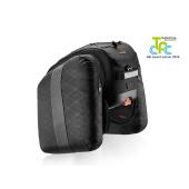 Sacoche arrière Ibera BA19 (cyclotourisme: 21L.), fixation sur porte bagage