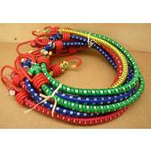 Pochette de 10 tendeurs multicolores 60cm couleurs assorties