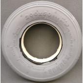 PNEU avec INSERT PLEIN XSENCE - Ligné GRIS - 200x50 - 8x2 - CY240 - pour jante largeur 28 mm en 2 parties