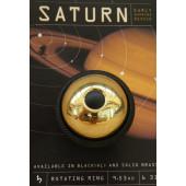 Sonnette rotative Mirrycle Saturne dorée