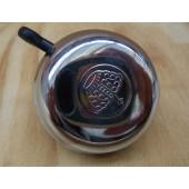 Sonnette classique métal argenté motif couronne